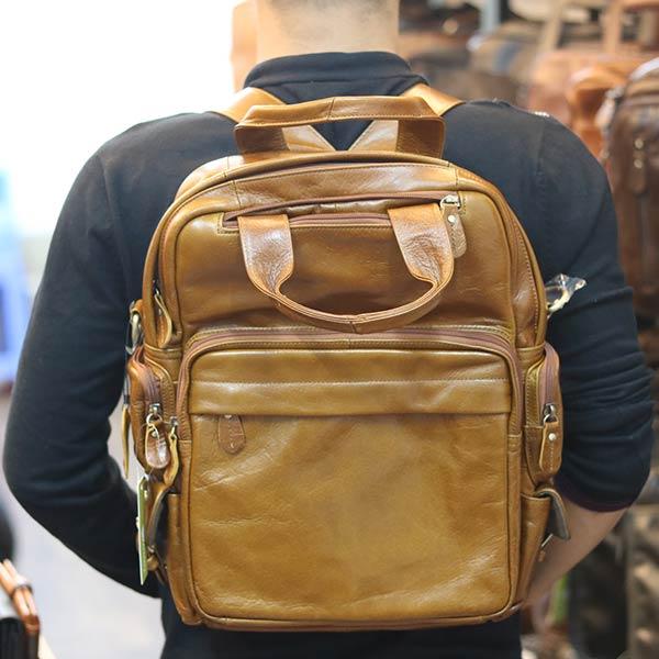 Balo da thời trang kết hợp túi đeo chéo BLN26