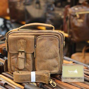 Túi da đeo chéo có quai xách tiện lợi KT150