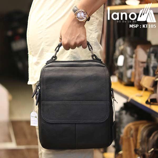 Túi da đeo chéo Lano lịch lãm KT105