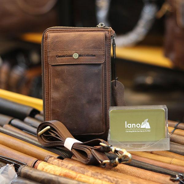 Túi da đeo chéo Lano loại nhỏ KT161