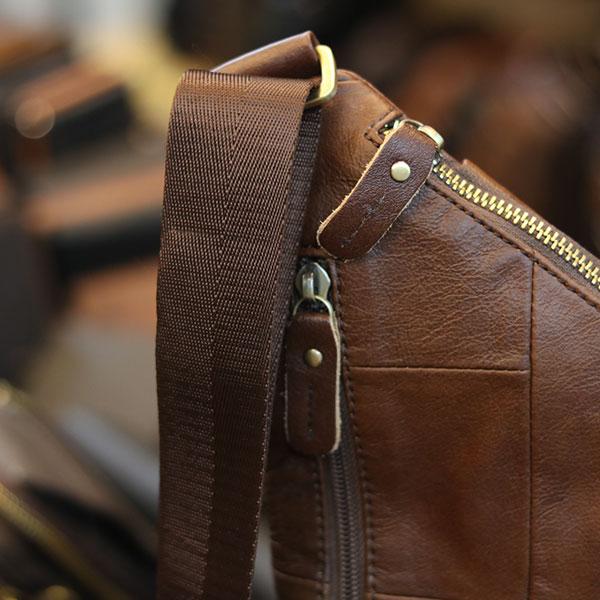 Túi da đeo chéo ngực thời trang Lano TDL62