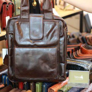 Túi da Lano xách tay đeo chéo KT168