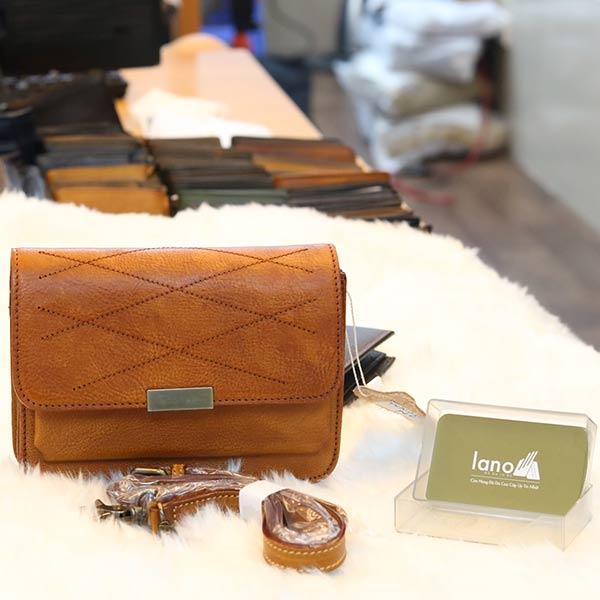 Túi da nữ Lano cao cấp Handmade TXN030
