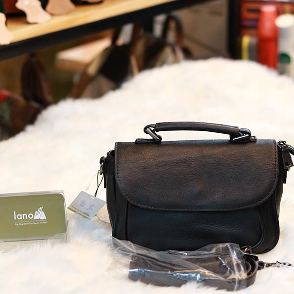 Túi da nữ xách tay đeo chéo TXN040