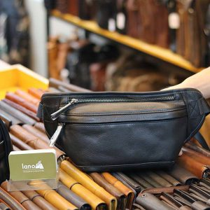 Túi đeo bụng Lano da bò thật đẳng cấp TDB009