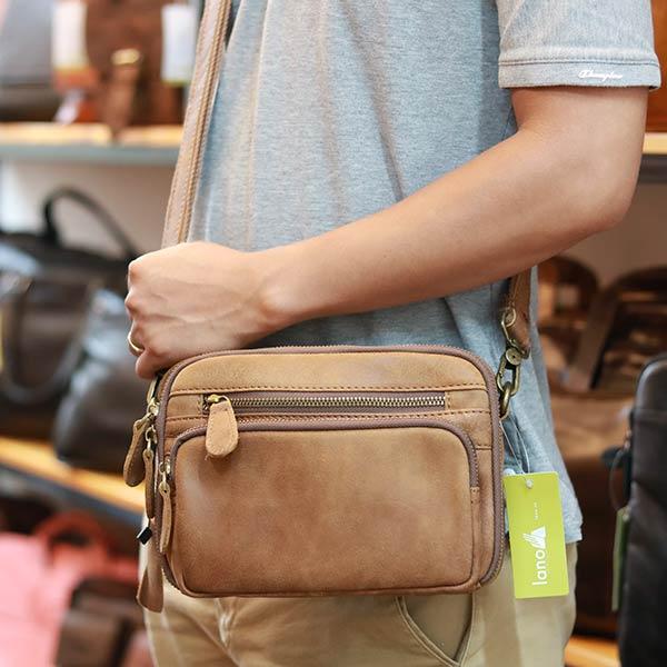 Túi đeo chéo da bò giá rẻ thời trang KT108