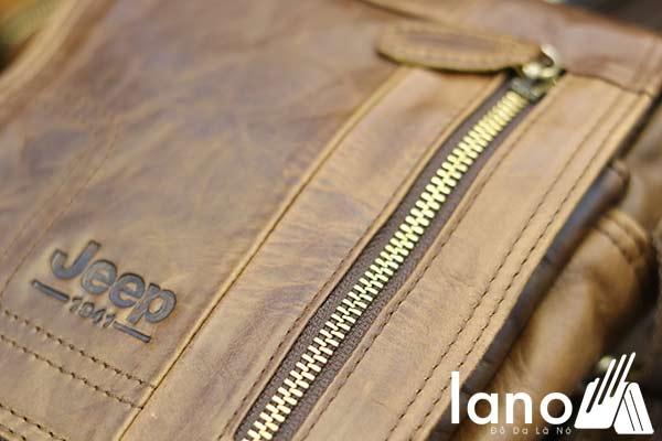 Túi Đeo Chéo Da Thật Lano Đựng iPad Mini J30
