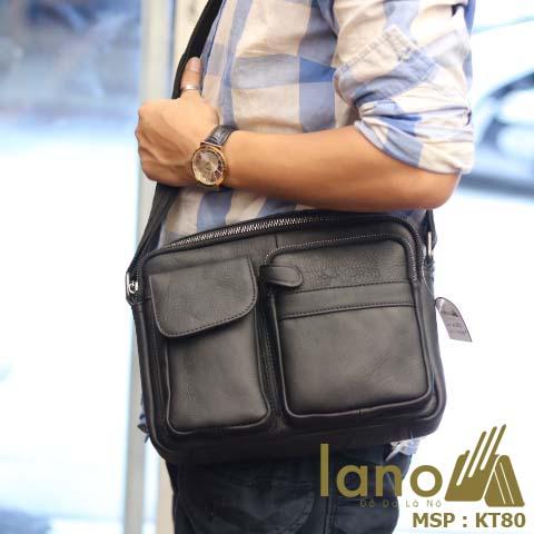 Túi đeo chéo Lano da bò thời trang KT80