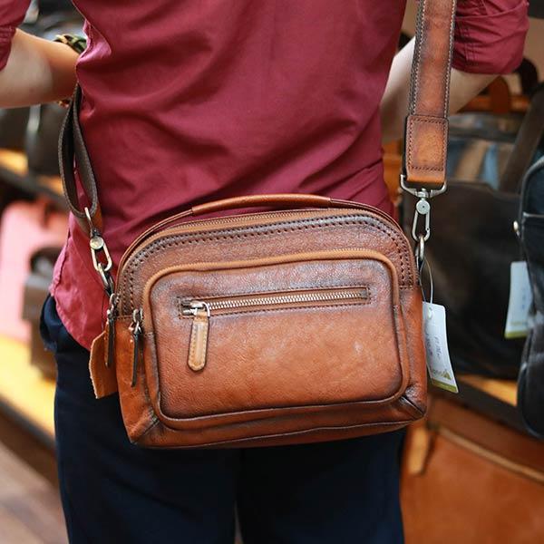 Túi đeo chéo nam có tay xách Lano KT188