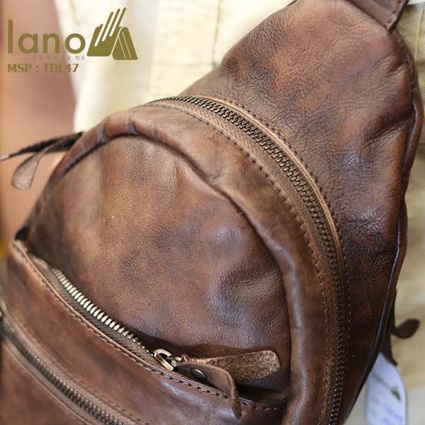 Túi đeo chéo ngực Lano da bò cao cấp TDL47