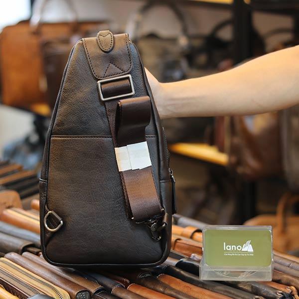 Túi đeo ngực Lano da bò phong cách TDL49