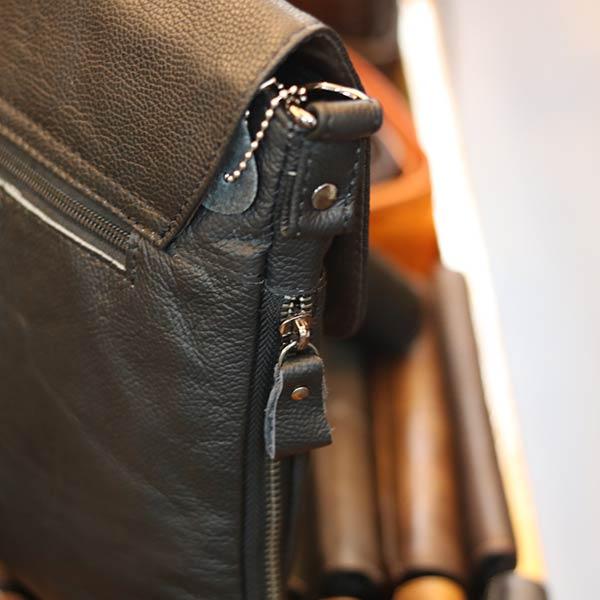 Túi da nam mỏng gọn KT11