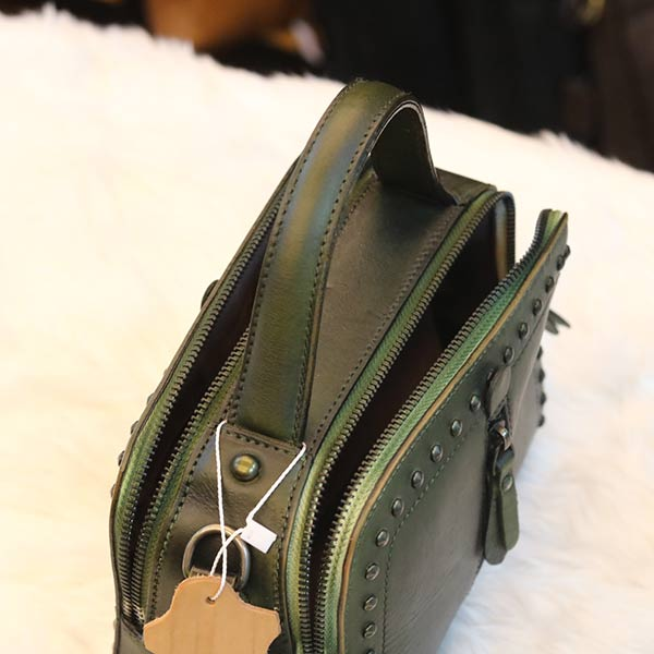Túi xách da thật Handmade TXN026