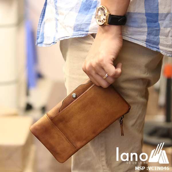 Ví cầm tay Lano cao cấp VCTN046