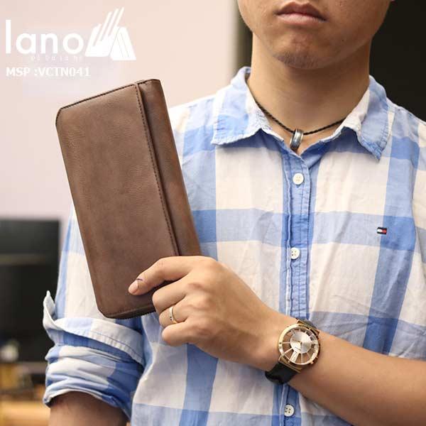 Ví cầm tay Lano mạnh mẽ nam tính VCTN041