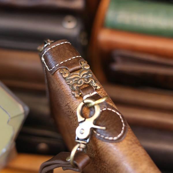 Ví dài da bò cầm tay lịch lãm từ da nhập khẩu VCTN072